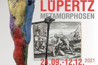 """Kunstausstellung: Skulpturen und Zeichnungen  """"Markus Lüpertz Metamorphosen"""" im Dialog mit bibliophilen Ausgaben der Metamorphosen von Ovid"""
