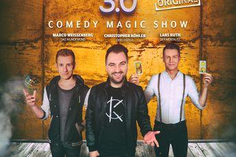 Die Magier 3.0 - Comedy Magic Show -  verlegt auf den 21. Nov. 2021