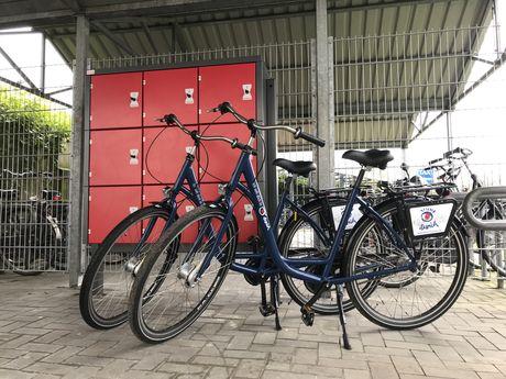 Fahrradgarage Tourist-Info